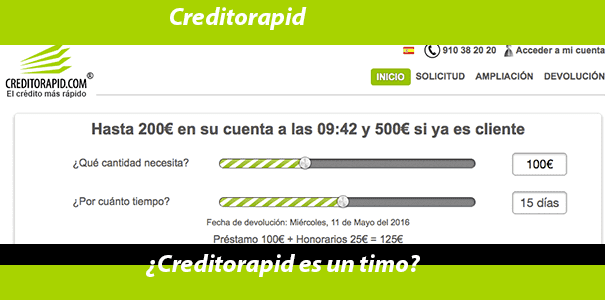 Creditos online creditorapid